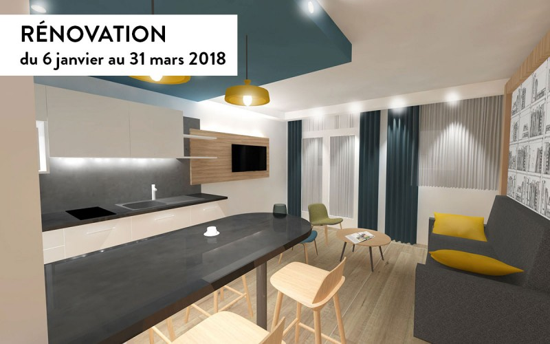 Rénovation en 2018