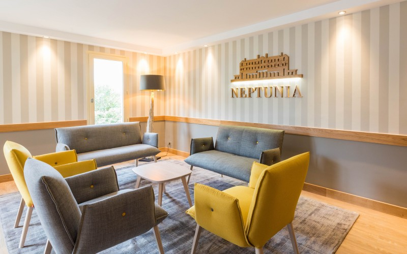 Residence Neptunia : le salon