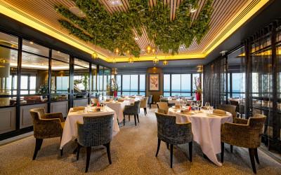 Restaurant Les 7 Mers de l'hotel Le Nouveau Monde à SAint-Malo